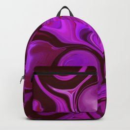 Purple Haze #Abstract #DigitalArt #1970s Backpack
