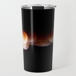Super Blue Blood Moon Trails Travel Mug