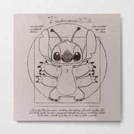 Stitch vitruvien Metal Print