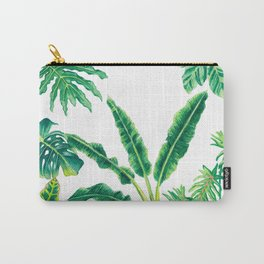 Tropical House Plants Carry-All Pouch