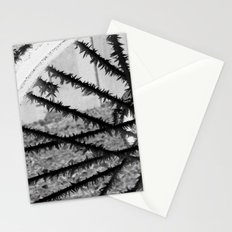 Winter spoke its intentions... Stationery Cards