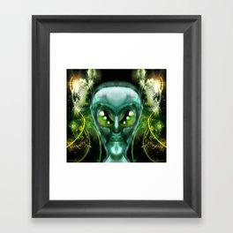 Zeta Framed Art Print