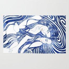 Water Nymphs Rug