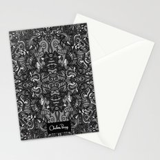 Top Hat Black and White Stationery Cards