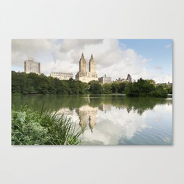 Central Park Reflections Canvas Print