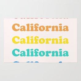 Retro California Rug