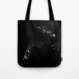 Space Arms Tote Bag