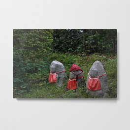 Three Tiny Guardians Metal Print