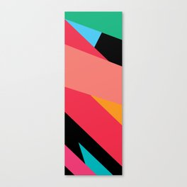 Colorful Yoga mat Canvas Print