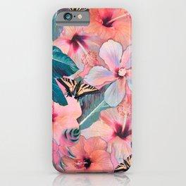 Hale Aloha Hibiscus iPhone Case