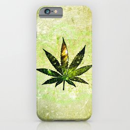 Marijuana Leaf iPhone Case