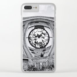 Diamant in Industrie Ruine Clear iPhone Case