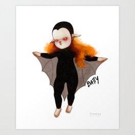 BATTY II Art Print