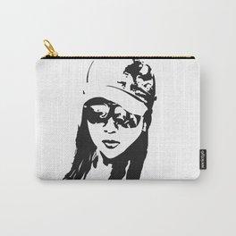 girl beach Carry-All Pouch