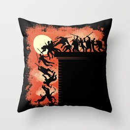 THIS IS COWABUNGA! Throw Pillow