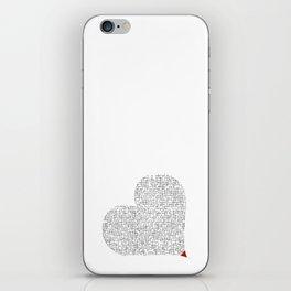 Heart (16) iPhone Skin