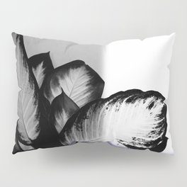 Abstract Palm Plant Pillow Sham