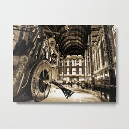 Hay's Galleria London Metal Print
