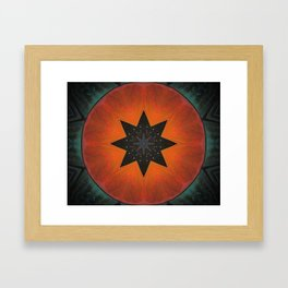 Sol Fire Framed Art Print