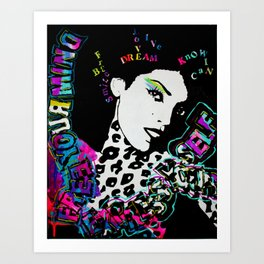 Express Yo Self Art Print