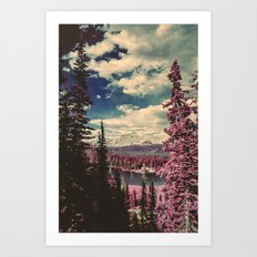 Hayden Ridge Infrared Art Print