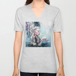 Yolandi The Rat Mistress 	 Unisex V-Neck