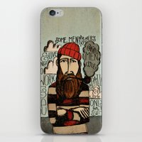 men iPhone & iPod Skins featuring SOME MEN ARE SAILORS by Matthew Taylor Wilson