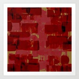Curdled pattern Art Print