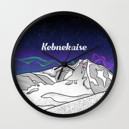 Kebnekaise Wall Clock