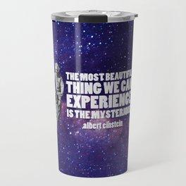 Einstein: The Mysterious Universe Travel Mug
