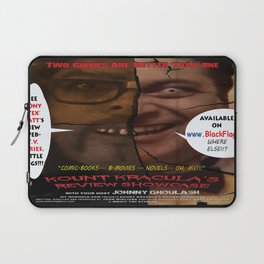 Kount Kracula's Review Showcase -TV Show Promo Poster  Laptop Sleeve