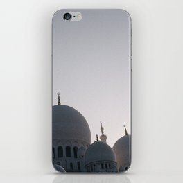 Abu Dhabi adventures; Sheikh Zayed Grand Mosque iPhone Skin