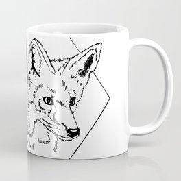 Fox Twins (white) Coffee Mug