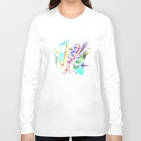 band Long Sleeve T-shirts featuring Jazz Band by Nancy Smith