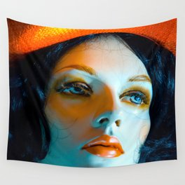 SALLY PORCELAIN #1 Wall Tapestry