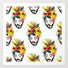 fruit har pattern Art Print