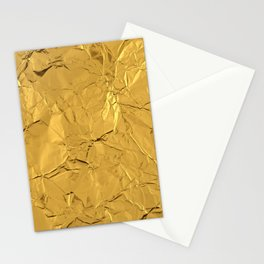 Roll'd Gold Stationery Cards