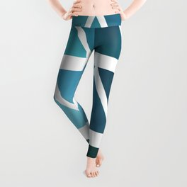 Triangles Two Leggings