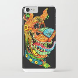 Trippy Dog iPhone Case
