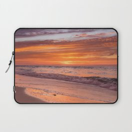 Sunset at Bean Point 3 Laptop Sleeve