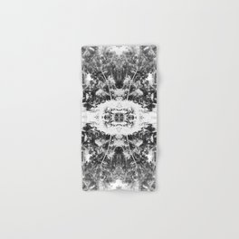 Black n White Boho Pattern Hand & Bath Towel