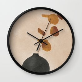 Eucaliptus Decoration I Wall Clock