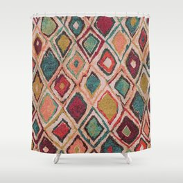 V38 EPIC ANTHROPOLOGIE MOROCCAN CARPET TEXTURE Shower Curtain