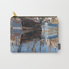 Reflections of Porthleven Harbour  Carry-All Pouch