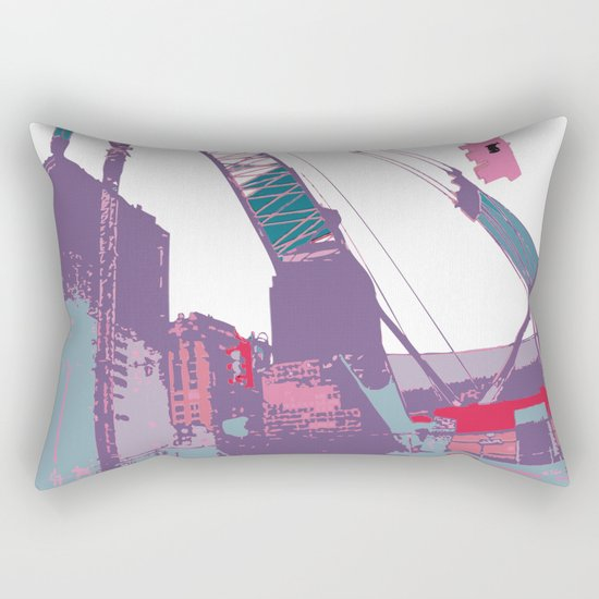 NY#3 (Lost Time) Rectangular Pillow