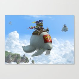 The Ferry Canvas Print