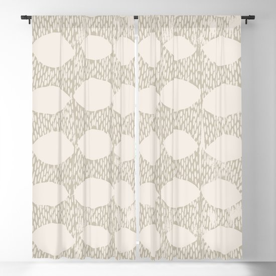Arches Block Print in Cream by beckybailey1