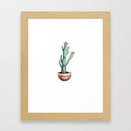 Cactus 01 Framed Art Print