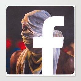 Like the Revolution Canvas Print