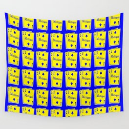 A-DUECE MICHIGAN PLAYING CARD Wall Tapestry